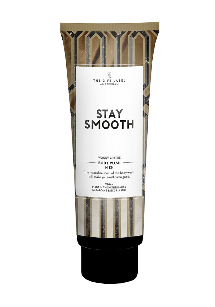 The Gift Label - Body Wash Men Tube - Stay Smooth