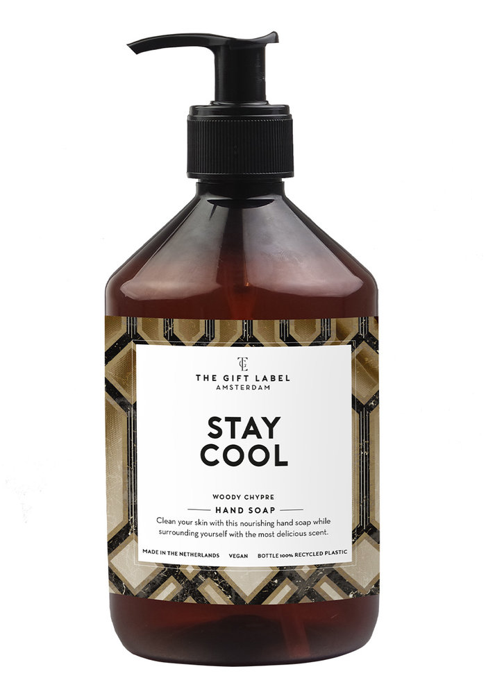 The Gift Label - Hand Soap Man - Stay Cool 500ml