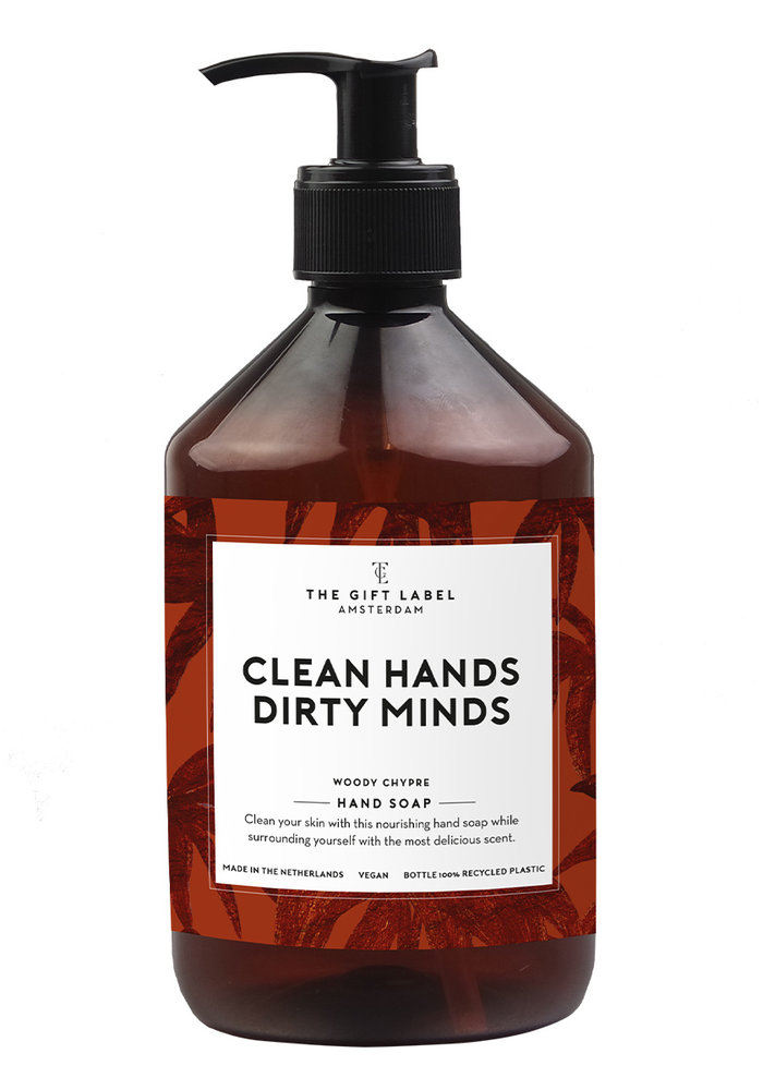 The Gift Label - Hand Soap Man -Clean Hands Dirty Mind 500ml