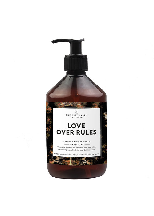 The Gift Label - Hand Soap - Love Over Rules