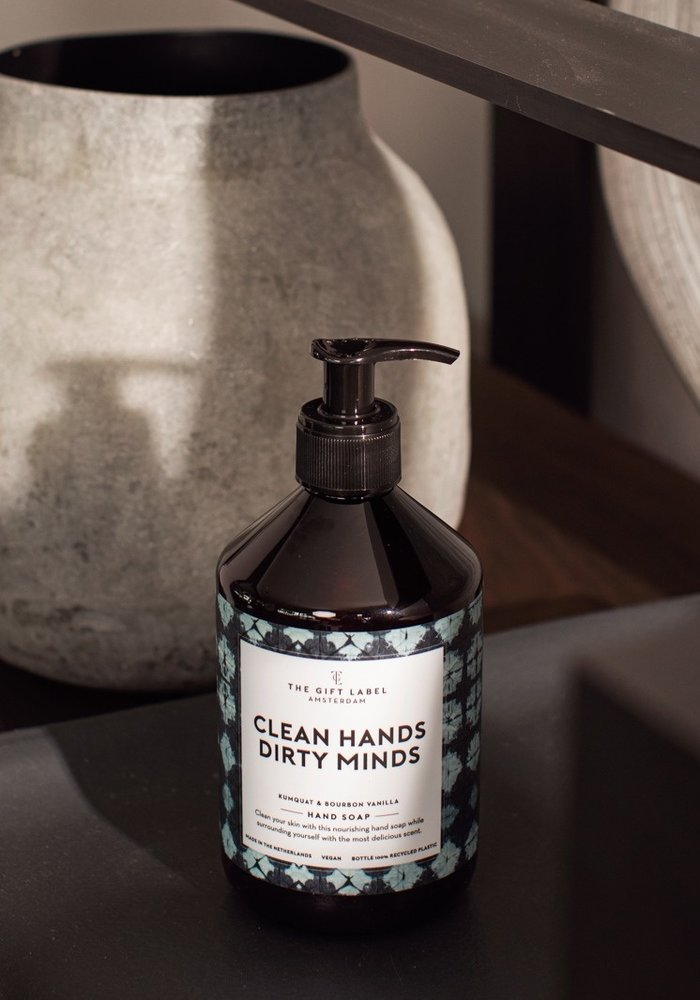 The Gift Label - Hand Soap - Clean Hands Dirty Minds