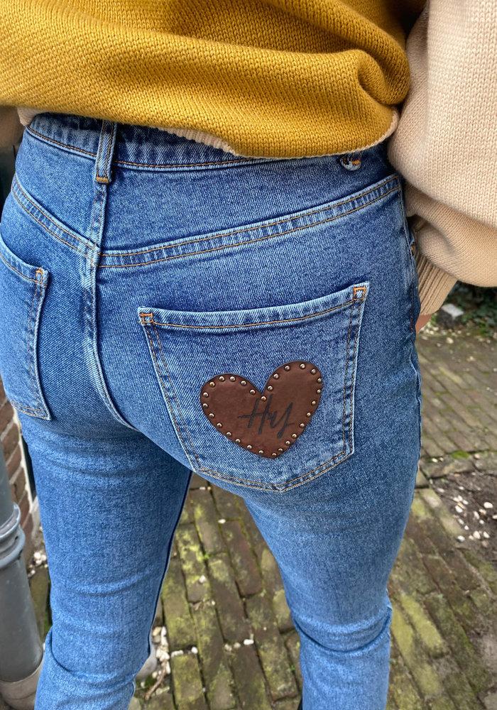 Harper & Yve -Harper Pants Blue Denim