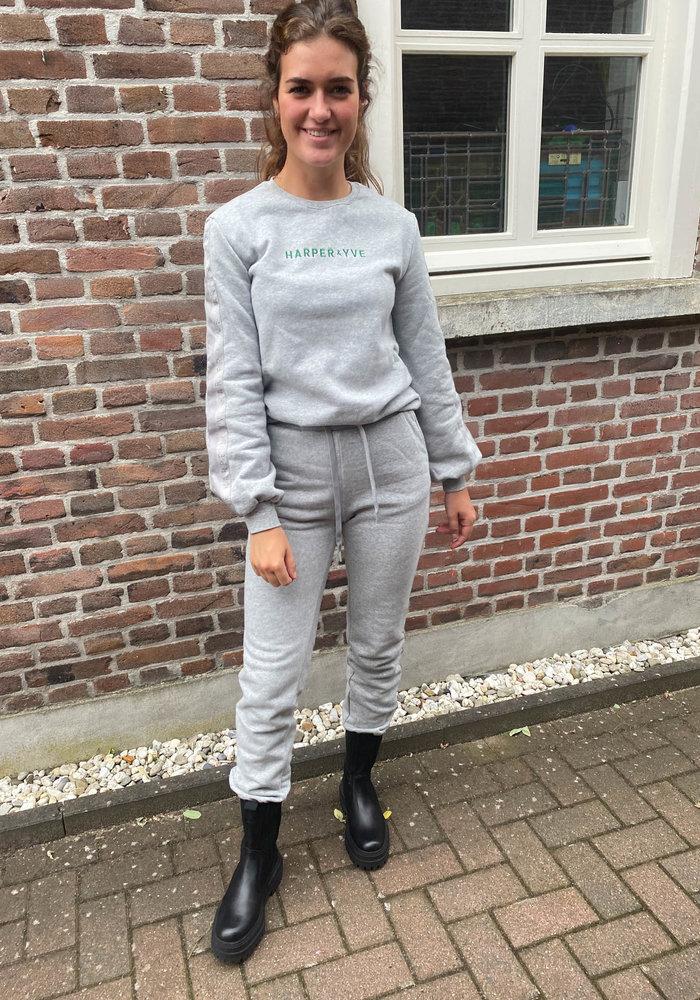 Harper & Yve - Yoann Pants Grey Melange