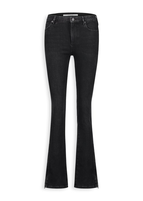 Homage Homage - Jane Flared Jeans with side zippers