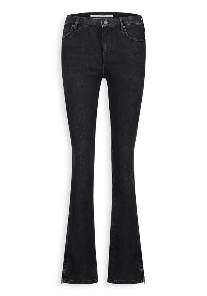 Homage - Jane Flared Jeans with side zippers