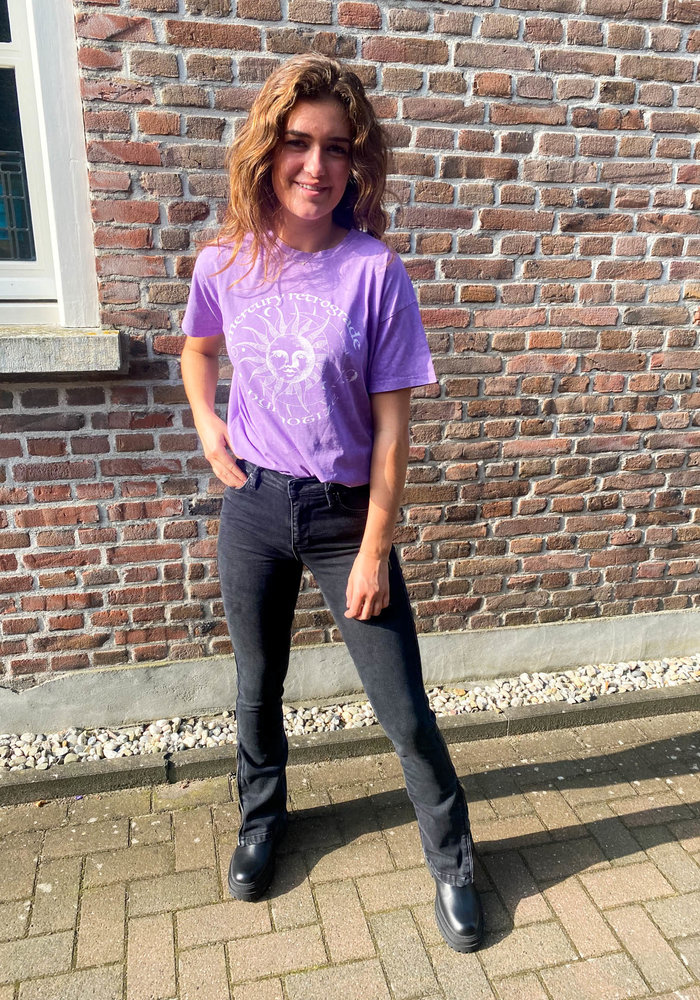 24Colours - 11594B Purple Tee