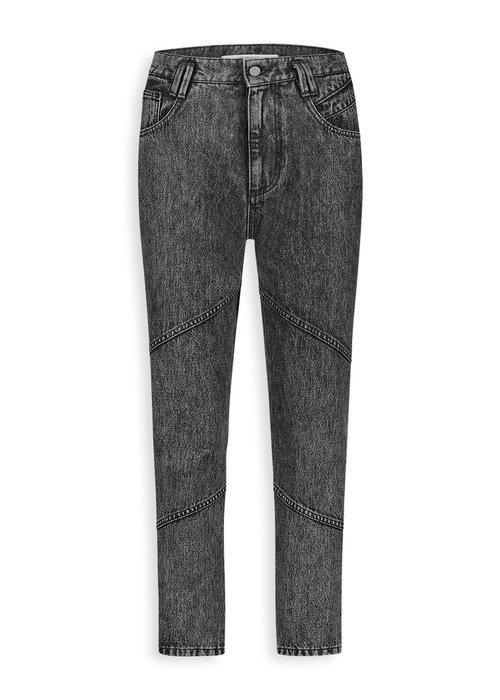 Homage Homage - 80s Inspired Non Stretch High Waist Jeans