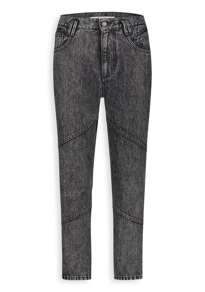 Homage - 80s Inspired Non Stretch High Waist Jeans