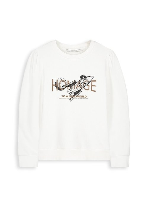 Homage Homage - Sweater With Baloon Sleeve - New World