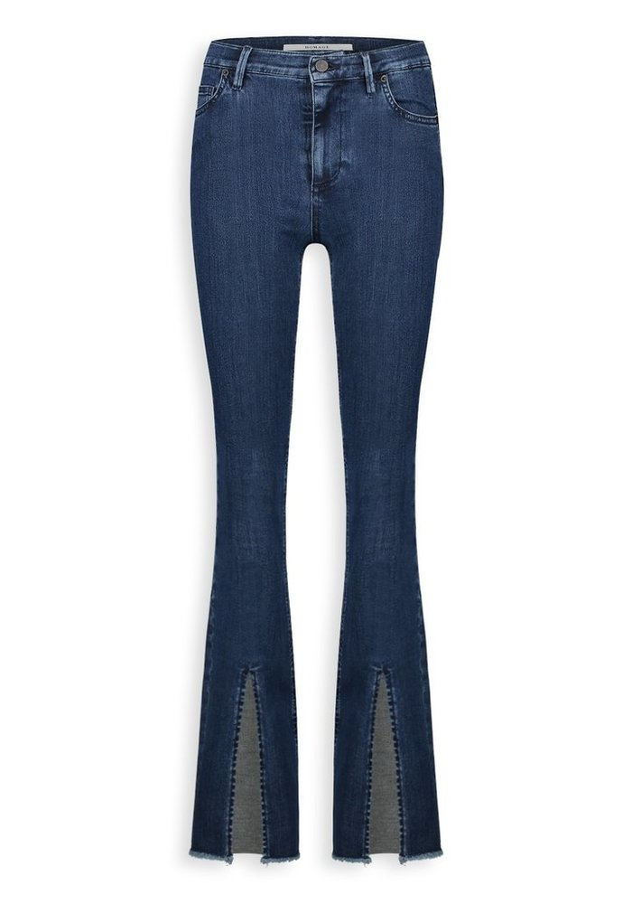 Homage - Jane Flared Jeans with clean slits