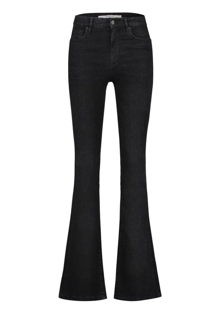 Homage 005 - Flared Jeans Black Used