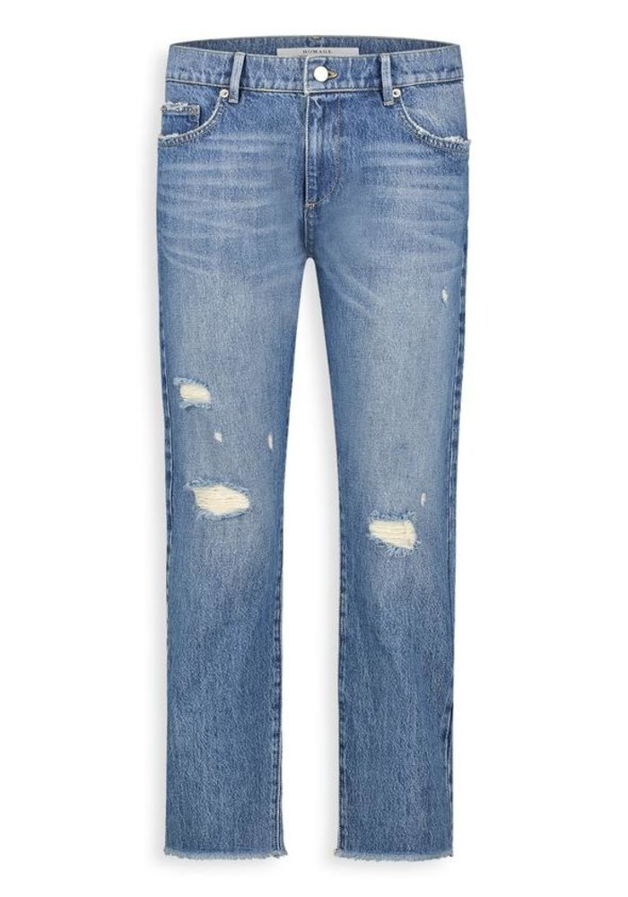Homage - Marilyn Non Stretch Straight Jeans Vintage Wash