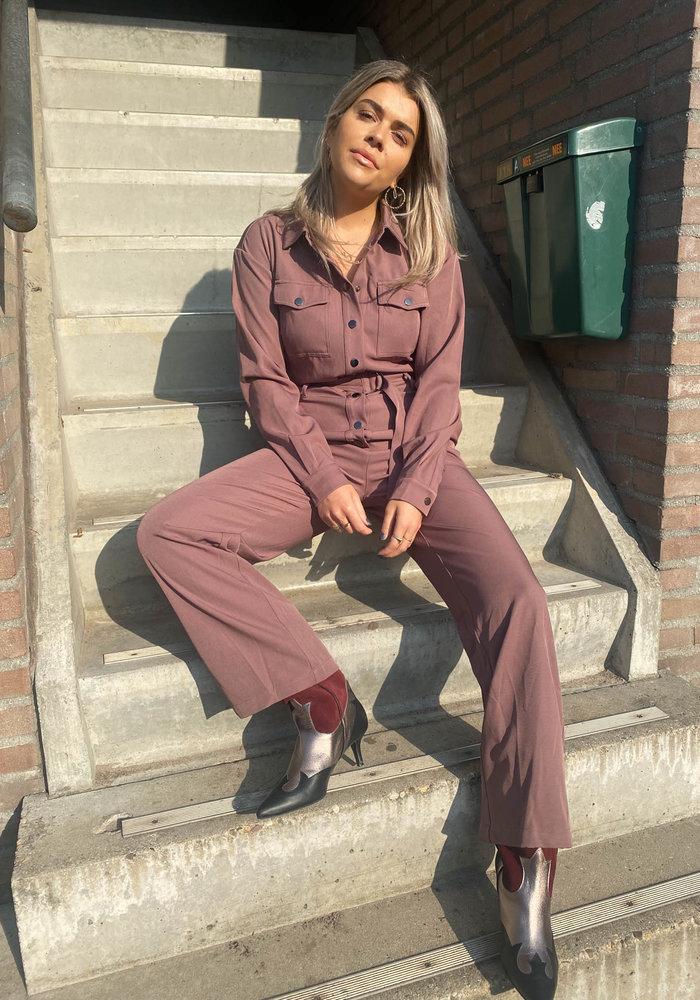 Dress Like You - Janne Mauve Jumpsuit