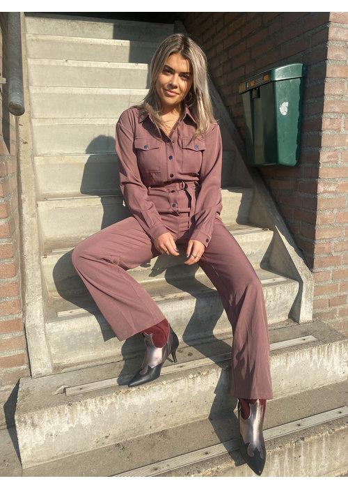 Dress Like You Dress Like You - Janne Mauve Jumpsuit