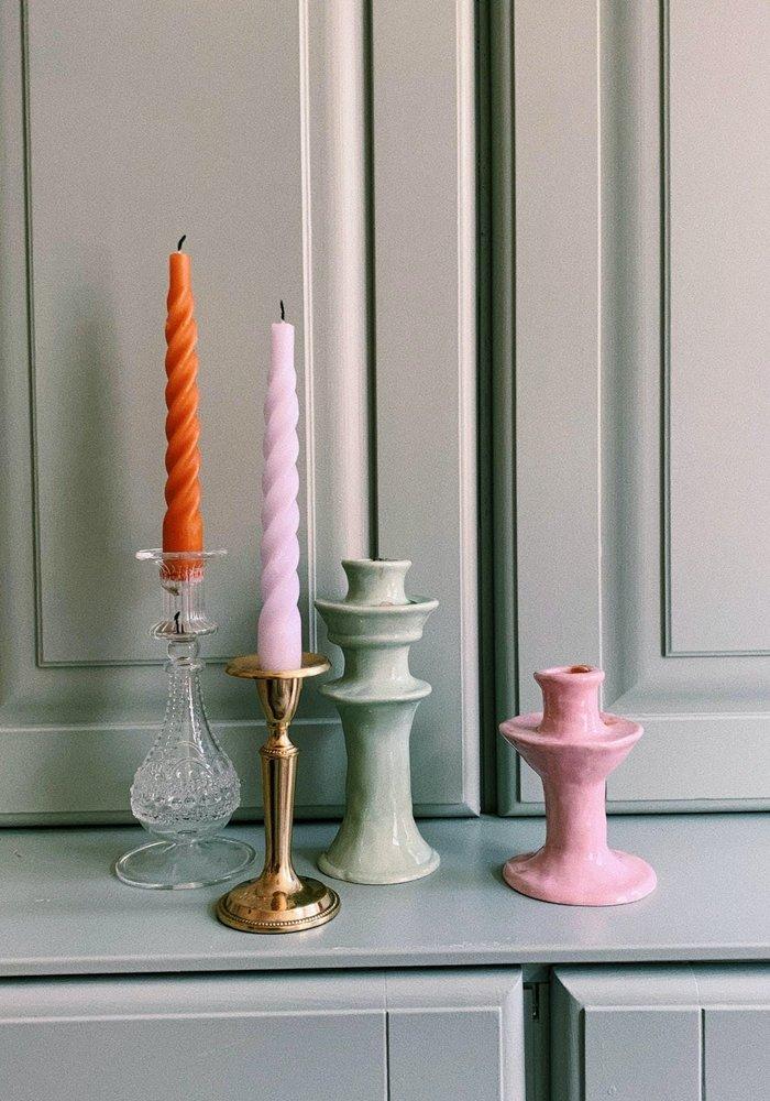Anna + Nina - Bounty Glass Candle 19cm Holder