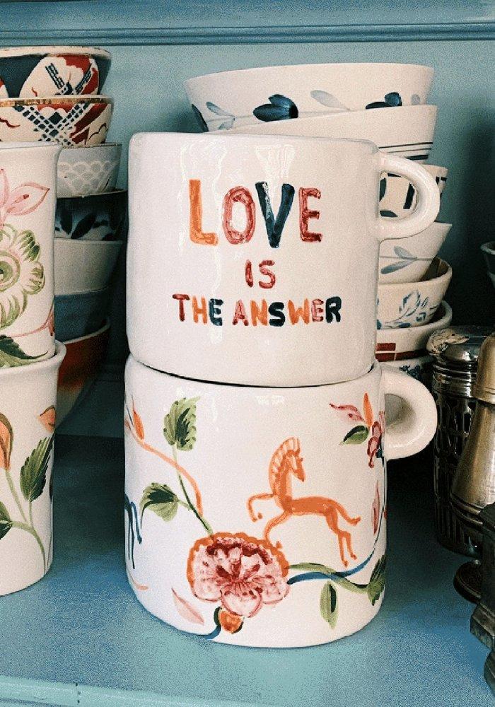 Anna + Nina - Love Is The Answer Mug