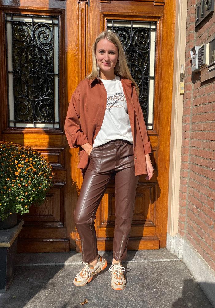 Harper and Yve - Mara Pants Chocolat