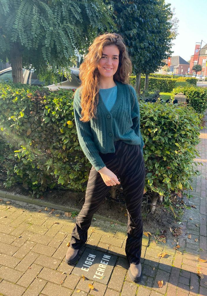 TilTil - Hannah Cardigan Green