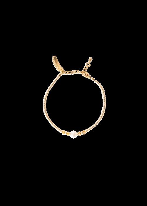 Le veer Le Veer- Easy Peachy Bracelet Gold