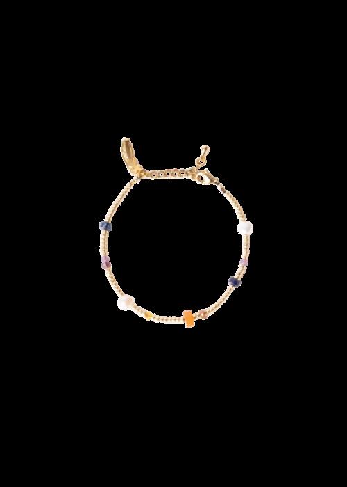 Le veer Le Veer-  Rocky Road Bracelet Gold