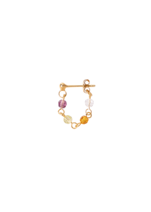 Le veer Le Veer-  Rocky Earrings Gold (Paar)