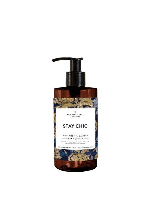 Gift Label -Handlotion 250ml - Stay Chic