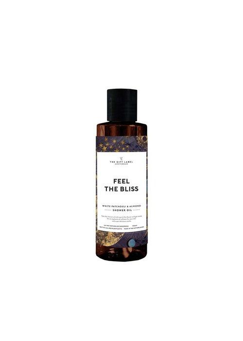 Gift Label -  Shower Oil 200ml- Feel The Bliss