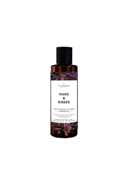 Gift Label - Showeroil 200ml - Hugs and kisses