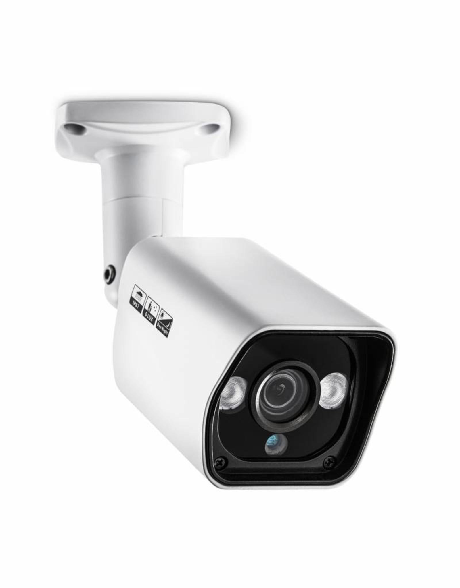 König HD Bullet Beveiligingscamera IP66 Wit