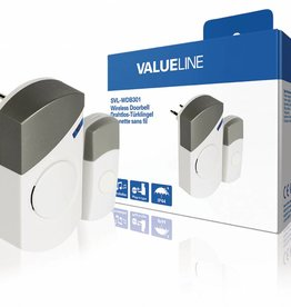 Valueline Plug-in Draadloze Deurbel Set