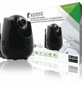 König HD Pan-Tilt IP-Camera Binnen