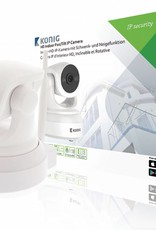 König HD Pan-Tilt IP-Camera Binnen 1280x720 Wit