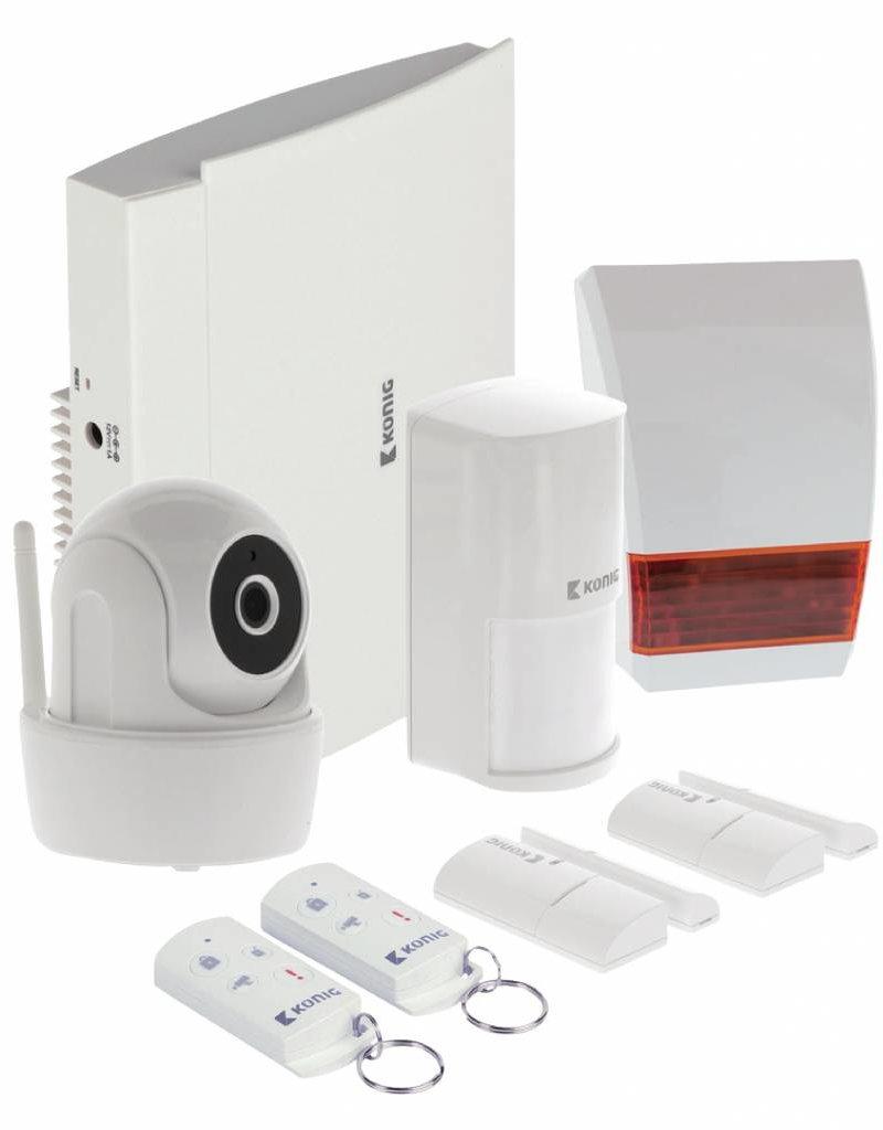 König Smart Home Security-Set Wi-Fi / 868 MHz