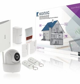 König Smart Home Security-Set Wi-Fi / 868 MHz