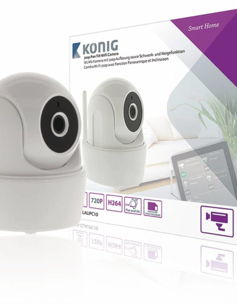 König HD Smart Home IP-Camera Binnen 720P
