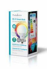 Nedis Wi-Fi smart LED-lamp | Full-Color en warm-wit | E27