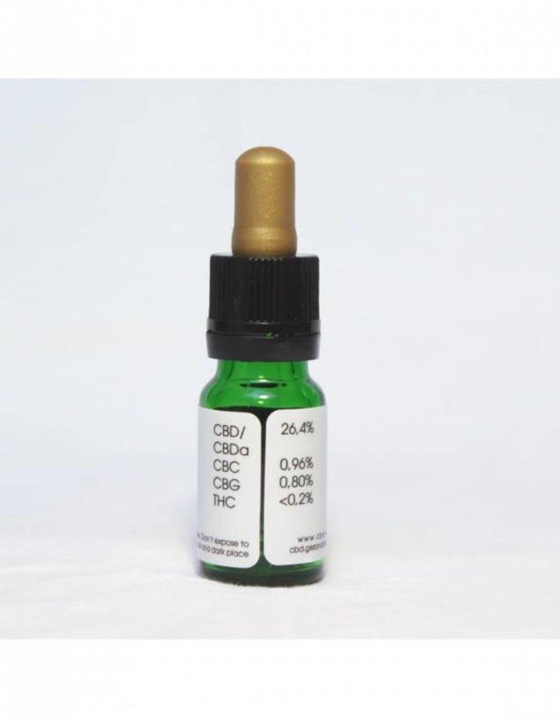 Gold Line Superieur CBD Olie 26,4%  CBD Full Spectrum