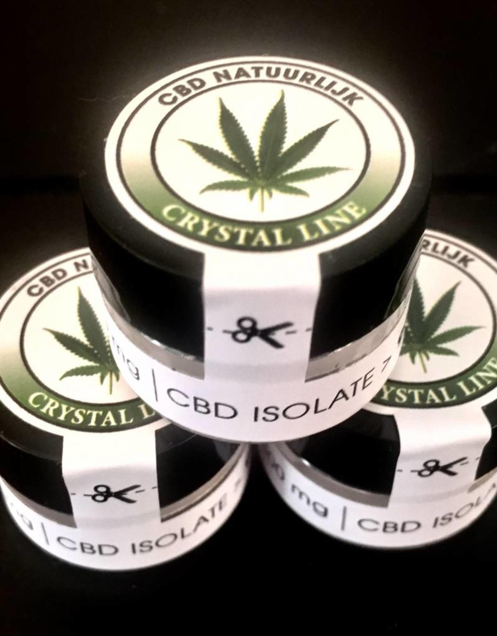 Cristales CBD puros 99%  se obtienen mediante extracción supercrítica del CO2