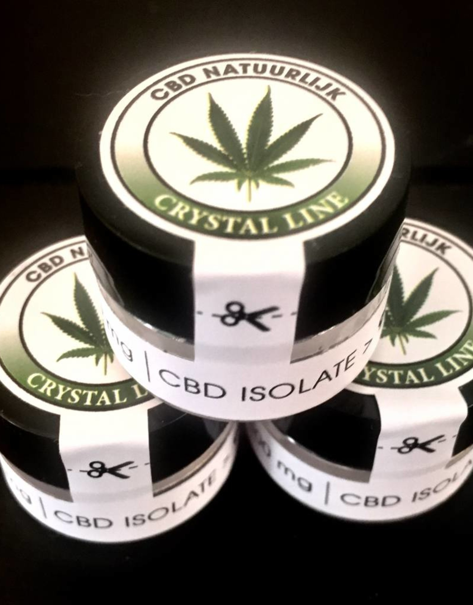 Pure CBD crystals  99%  are obtained through supercritical CO2 extraction