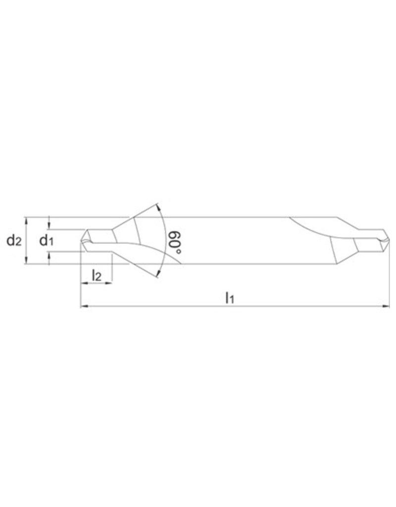 Soba HSS centerboor 5 - 12,5 mm