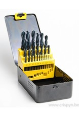 International Tools HSS borenset 1 - 13 mm per 0.5 mm