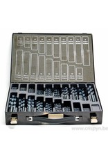 International Tools HSS borenset 1 - 13 mm per 0.5 mm (220 stuks)
