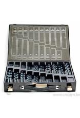 International Tools HSS borenset 1 - 10 mm per 0.5 mm (170 stuks)