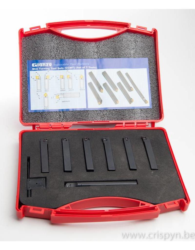 Soba Beitelset met wisselplaten CCMT06 - 10x10mm