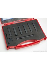 Soba Beitelset met wisselplaten CCMT06 - 12x12mm