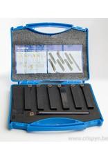 Soba Beitelset met wisselplaten CCMT09 - 16x16mm