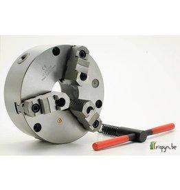 Diverse Standaard klauwplaat - 125 mm - met opzetbekken