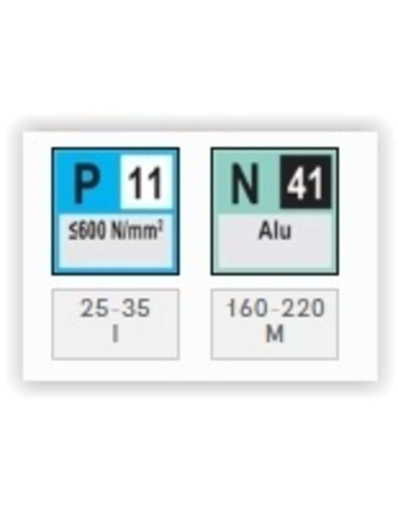 Phantom HSS-Co aluminiumfrees (1-lip) 4x60 MM