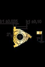 Phantom Borgringwisselplaat 16ER - 1,1 mm - uitwendig