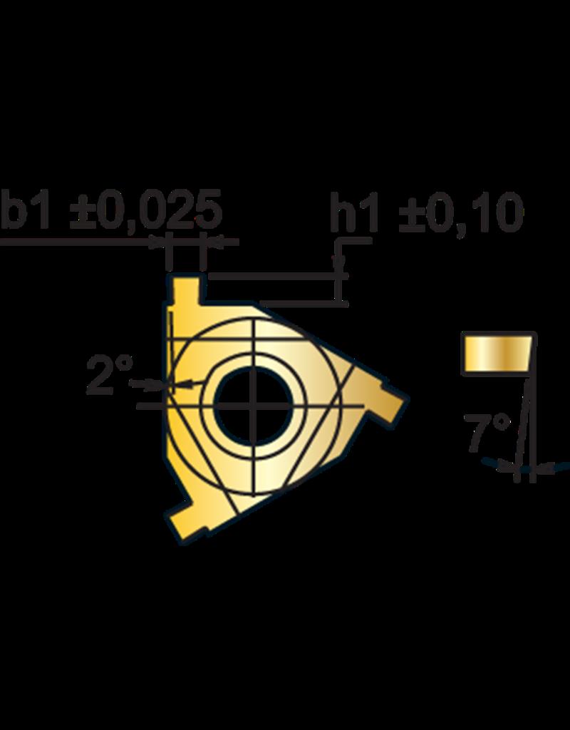 Phantom Borgringwisselplaat 16ER - 1,85 mm - uitwendig